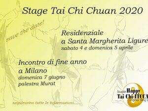 Stage Tai Chi Chuan 2020